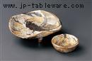 唐津櫻珞木刺身鉢