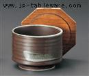 鉄結晶焼杉蓋(段付)