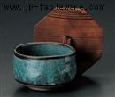 緑釉抹茶型飯器(蓋別売)