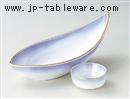 マロン吹舟型刺身鉢