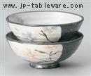 舞花茶碗(紫)