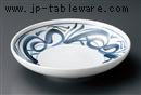 古染渦7.5麺皿