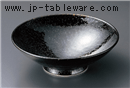 油滴天目8.0平鉢