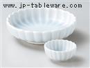 青白磁菊型刺身鉢