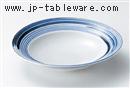 呉須巻7.5寸浅鉢