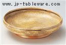 チタン釉尺鉢