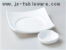 ピュアホワイト5.5刺身皿