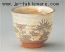 古萩彫蘭反千茶