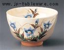 京焼桔梗抹茶碗(化)