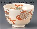 仁清六瓢抹茶碗(化)