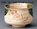 赤津焼織部抹茶碗(化)