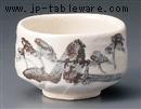 白志野抹茶碗(化)