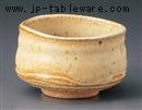 黄唐津流抹茶碗(貼箱)