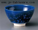 青結晶抹茶碗(貼)