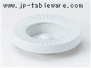 青地菊型ヘソ6.0灰皿