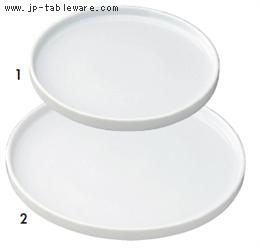 白チューブプレート(L)