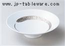 プラチナ刷毛平小鉢