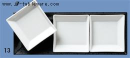 白磁小皿三ッ仕切セット