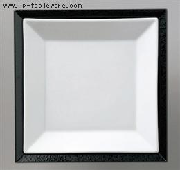 白磁正角皿セット