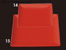 マラネロ16.5cm正角皿