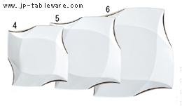 プラチナ彩折り紙12吋プレート