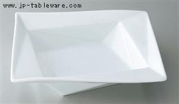白磁折り紙21cmスープ