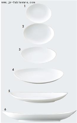 白磁パーティープレート13cm