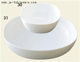 白磁カレボール(小)