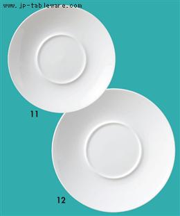 白磁プレートR.R24cm