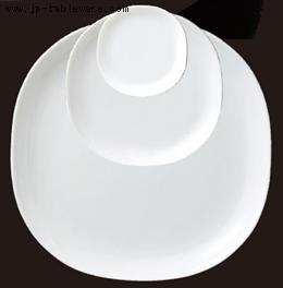 白磁カレ小皿