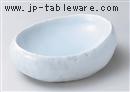 青白磁石肌鉢