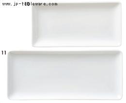 角皿シリーズ(白)長角皿32cm