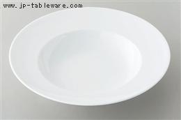 白磁11 1/2吋スープボール