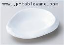 青白磁6.5寸皿