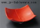 セレン赤4.5寸中皿