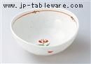赤絵なごみ5.0楕円鉢