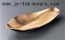 黒杉朴葉大鉢