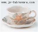 りんご花コーヒー碗(碗のみ-受け皿なし)