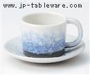 淡雪切立コーヒー碗 C/S(碗と受け皿セット)