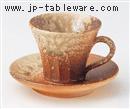 コゲビードロコーヒー C/S(碗と受け皿セット)