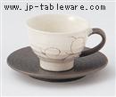 唐草丸コーヒーC/S(碗と受け皿セット)