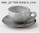 リ・コーヒー碗皿(碗と受け皿セット)