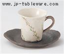 手描きつる草コーヒーC/S(碗と受け皿セット)