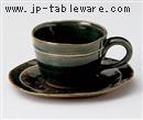 織部筋コーヒーC/S(碗と受け皿セット)