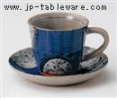 ダミ小花コーヒーC/S(碗と受け皿セット)