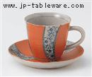 祥瑞桜コーヒーC/S(碗と受け皿セット)