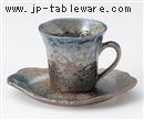 森の湖コーヒーC/S(碗と受け皿セット)