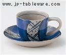 祥瑞コーヒー碗皿(碗と受け皿セット)