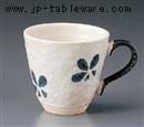 クローバー土物マグカップ