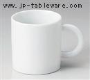白サクラマグカップ